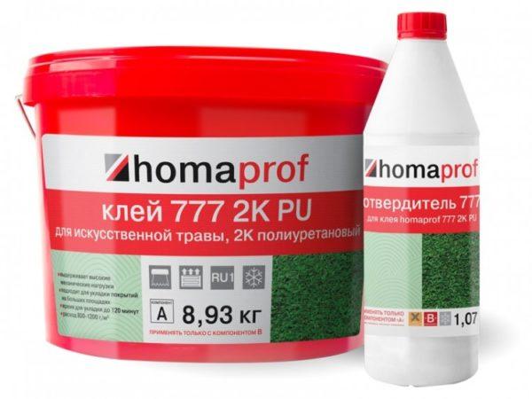Клей Homaprof 777 2K PU купить